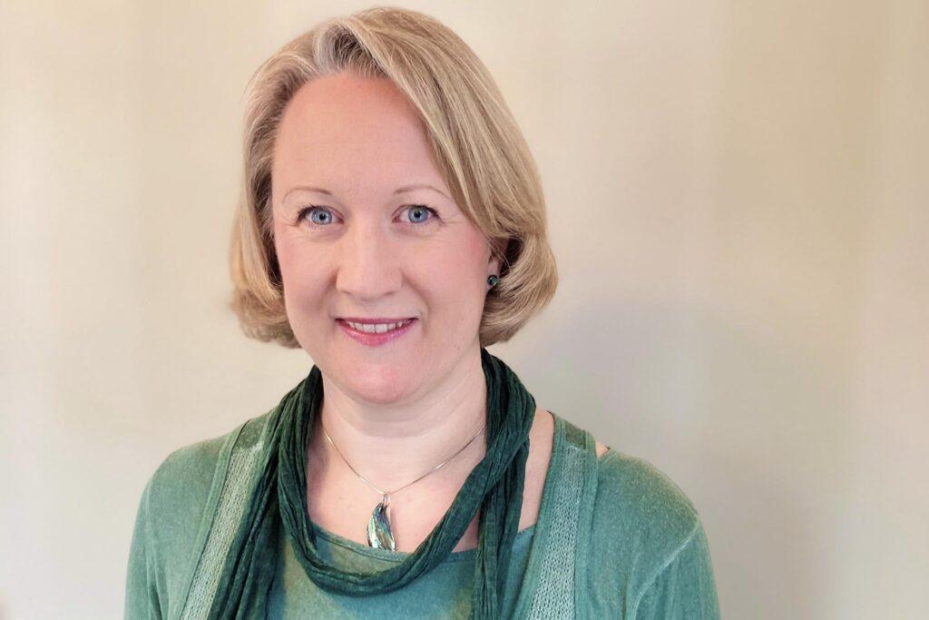 Portrettbilde av Marit Svindland- prosjektleder for innovasjonspartnerskap velferdsteknologi Agder